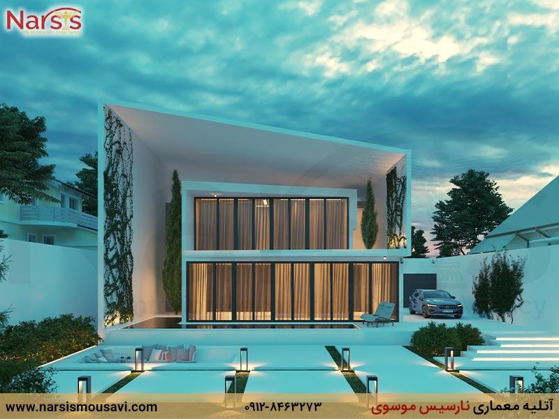 طراحی ویلا در شمال ایران