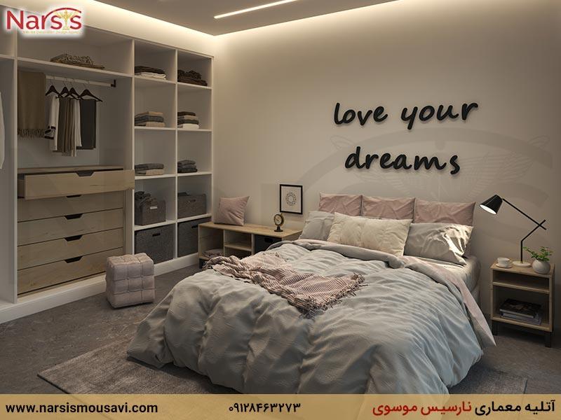 دکوراسیون داخلی اتاق خواب نوجوان